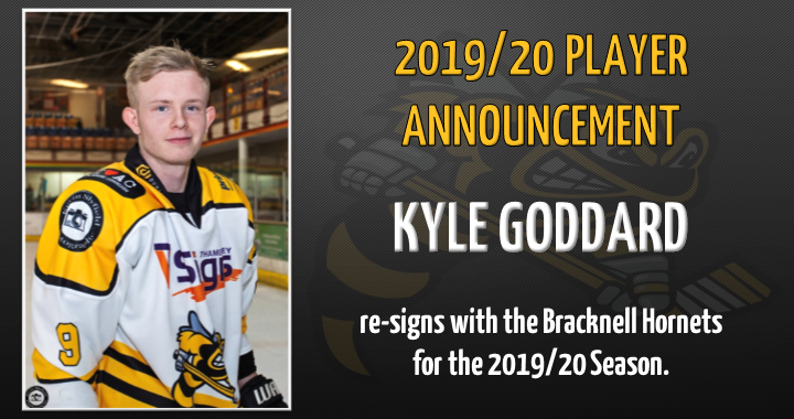 Kyle Goddard Announcement